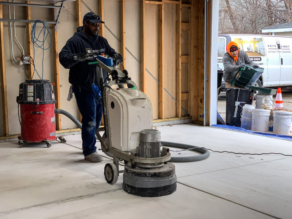 Garage Floor Coatings in Chicago
