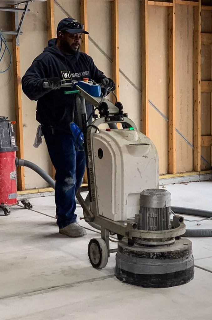 Acid Etch or Grind My Garage Floor